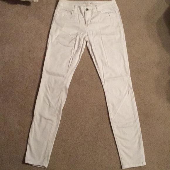 Decree Denim - Decree White Skinny Jeans